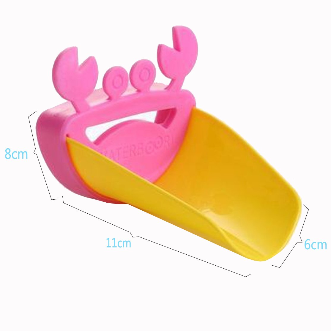 Ihre Kinder gute Hygiene Gewohnheiten Teach Cisixin Cartoon Extender Kinder h/ände waschen in Waschbecken mit verschiedenen Farben