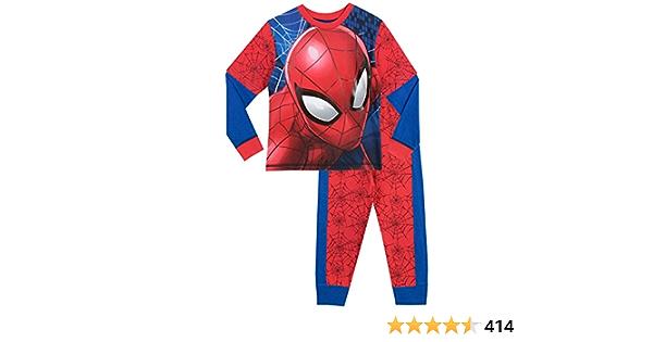Spiderman Pijama para Niños Spider-Man: Amazon.es: Ropa