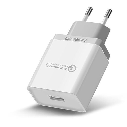 20 opinioni per UGREEN Quick Charge 3.0 [Certificato Qualcomm], QC 3.0 18W Caricatore Rapido