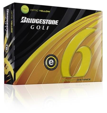 Bridgestone E6 Optic Yellow Golf Balls, 1 Dozen (2011 Model), Outdoor Stuffs