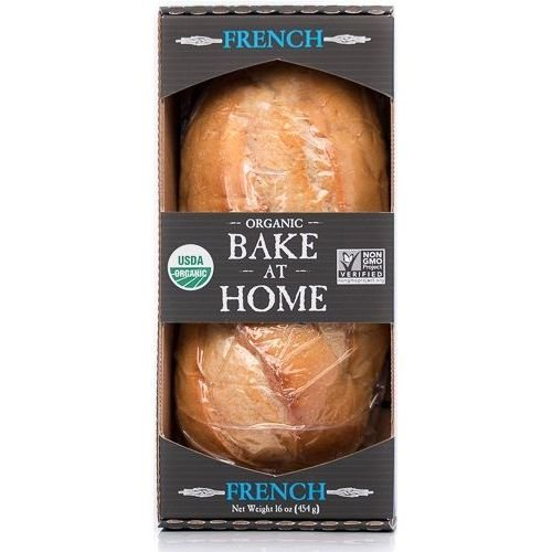 Essential Baking Company Organic Bake at Home French Bread, 16 Ounce - 12 per case.