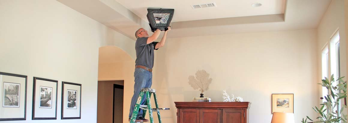 DrywallTrapper The smart solution for cutting into drywall ceiling