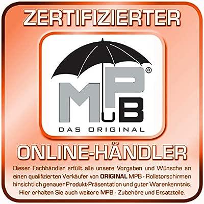 Orig. MPB® Andador pantalla ST 22/25 BR, ajustable, con 2 ...