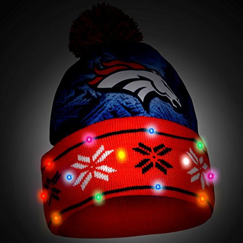 Denver Broncos Light Up Hat Football Theme Hats