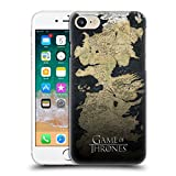 Official HBO Game Of Thrones Westeros Map Key Art Hard Back Case for iPhone 7 / iPhone 8