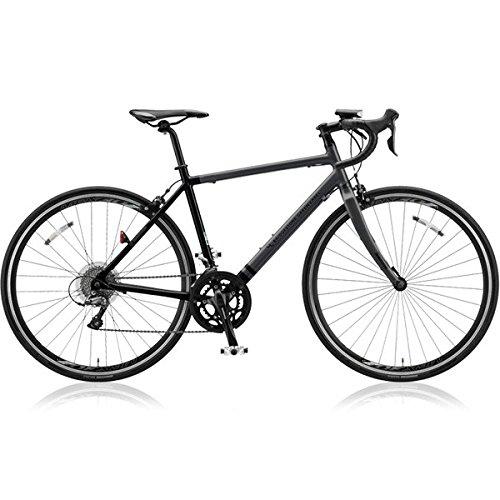 ブリヂストングリーンレーベル(BRIDGESTONE GREEN LABEL) ロードバイク CYLVA(シルヴァ) D16 VD1654 マットグロスブラック 540mm B076DW9FQD
