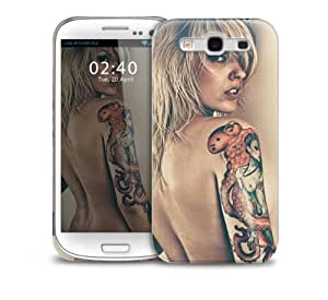 Sexy Tattoo Girl Samsung Galaxy S3 GS3 protective phone case