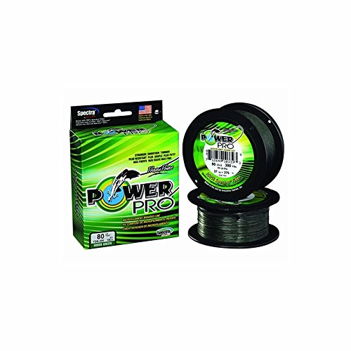 Power Pro Spectra - 300 yd. Spool - 40 lb. - Green (Braided Fishing Spectra Line Yds)