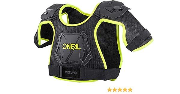 ONeal Peewee - Protecciones bicicleta para el pecho, Negro, M ...