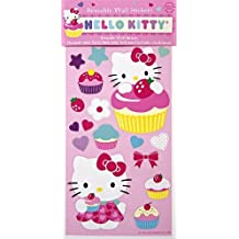 Meri Meri Hello Kitty Wall Stickers, 71-Pack