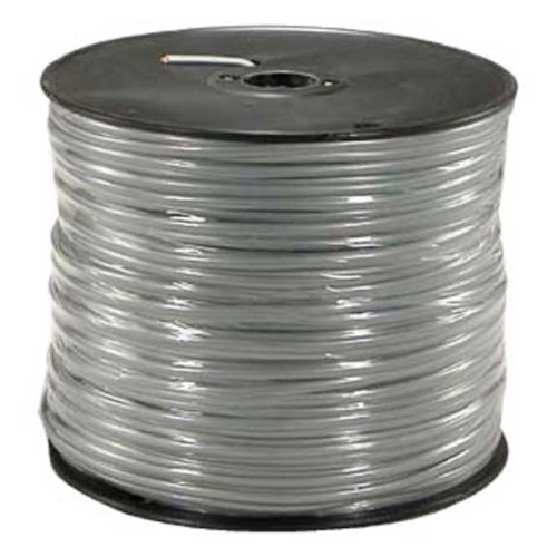 SF Cable, 1000ft 26 AWG RJ11 6P4C UL Modular Telephone Cable