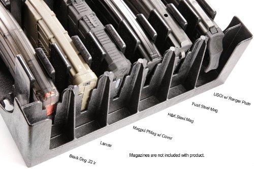 Mag Storage Solutions AR 15 5.56 .223 MagHolder Magazine Holder Storage  Rack Magpul AR15