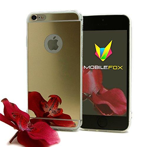 Mobilefox Schneewittchen Schutzhülle Spiegel TPU Case Smartphone Apple iPhone 7 Gold