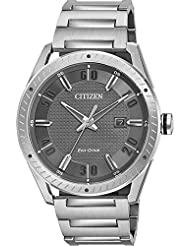 Citizen Watches Mens BM6991-52H Drive from Eco-Drive Silver Tone Watch