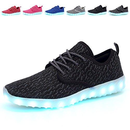 Sykt Kids Led Light Up Shoes Flashing Sneakers For Girls Boys