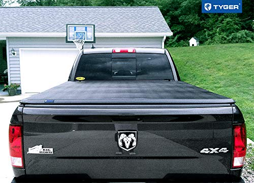 Tyger Auto T3 Tri-Fold Truck Bed Tonneau Cover TG-BC3D1015 works with 2009-2018 Dodge Ram 1500 without Ram Box | Fleetside 5.8' Bed