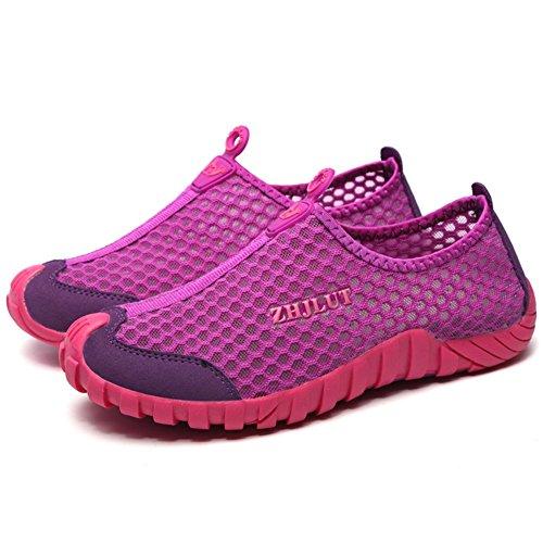 Sandalen Unisex Herren Schuhe Geschlossene Pink Badeschuhe Wasserfest Aquaschuhe Sport Damen Schnelltrocknend Sommer Fabrik 8qwR6UgxW