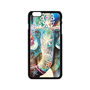Colorful flowers elephant Cell Phone Case for Iphone 6