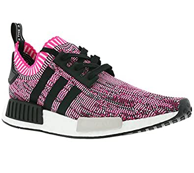 adidas Originals NMD_R1 PK Womens Running Trainers Sneakers (UK 4.5 US 6 EU 37 1/3, Shock Pink core Black BB2363)