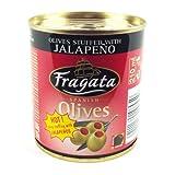 Fragata Spanish Olives Stuffed with Jalapeno (200g)