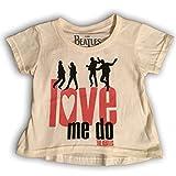 Bravado  Beatles 'Love Me Do' Baby Girls T-Shirt (12 Months)