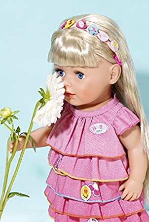Puppen & Zubehör Zapf Creation 824481 Baby Born Sommerkleid Set mit Pins bunt
