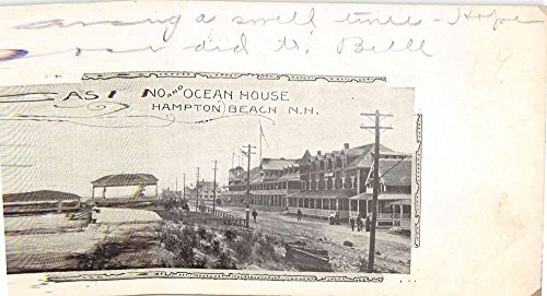 - Hampton Beach New Hampshire Casino Ocean House Antique Postcard K77736