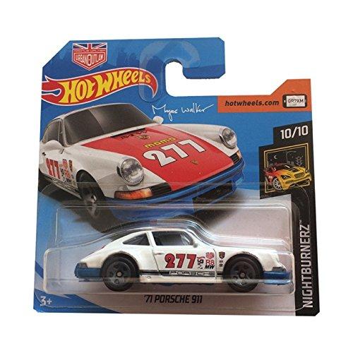 Hot Wheels 71 Porsche 911 - Night Burnerz 10/10 - 2018 Short Card Mattel