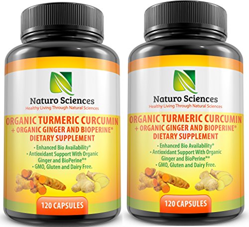 Turmeric Curcumin BioPerine Naturo Sciences product image
