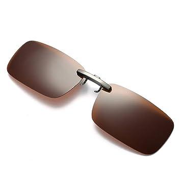 Clip lunettes de soleil amovible Elyseesen Détachable Night Vision objectif conduite polarisée à Clip lunettes lunettes de soleil (Bleu) a2fbuaHnhR