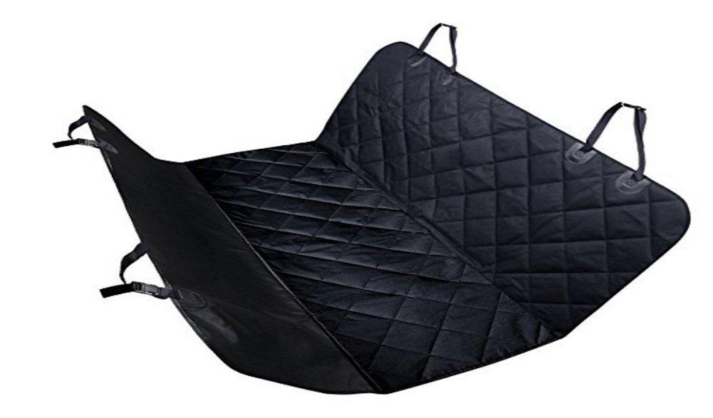 Black Pet Car Mat Dog Out Car Mat Rear Double Seat Slip Waterproof