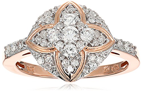 10k White Diamond Ring (3/8cttw, H-I Color, I2-I3 Clarity...