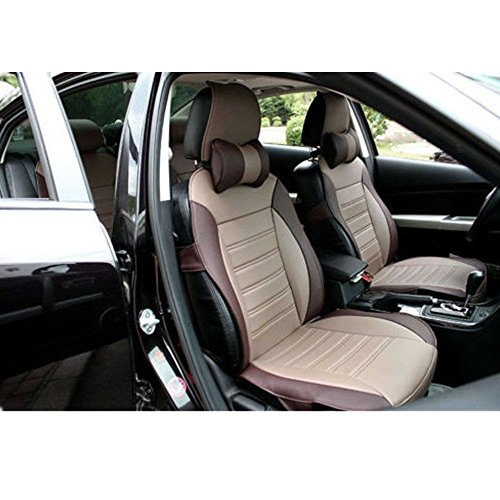 Car Seat Protector Automotive Vehicle Leather Front Rear Genenal 5 Seat Cover Pad Fit Most Car, Truck, Suv, or Van 8PCS - Outback Chair Hammock
