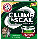 Arm & Hammer Clump and Seal Litter with Micro Guard, 14 lb - Pack of 2