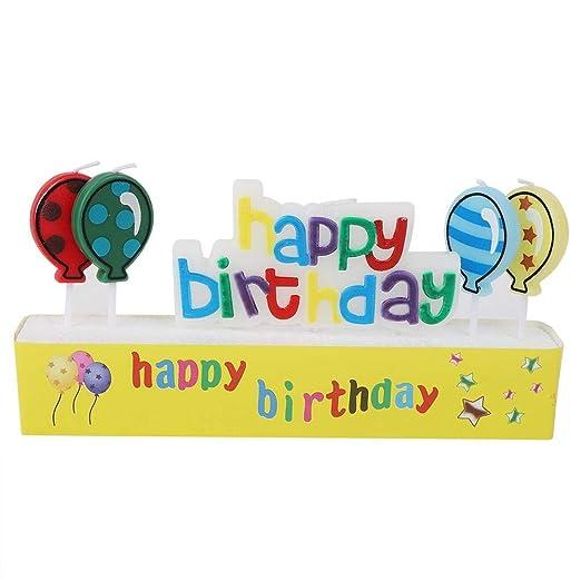 Duokon Pastel de cumpleaños Velas Celebración de Fiestas ...