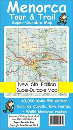 Menorca Tour Trail Superdurable Map David Brawn Ros Brawn