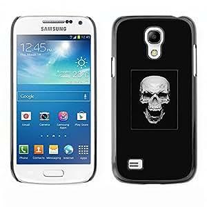 EJOY---Cubierta de la caja de protección la piel dura para el / Samsung Galaxy S4 Mini i9190 / --Cráneo malvado de la risa