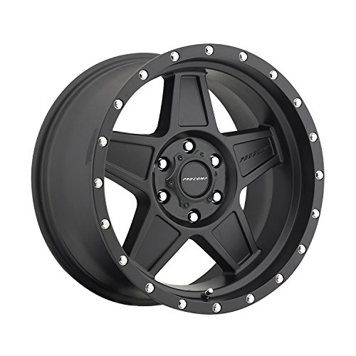 Pro Comp Alloys Series 35 Predator Wheel with Satin Black Finish (18x9''/6x135mm) by Pro Comp Alloys (Image #1)
