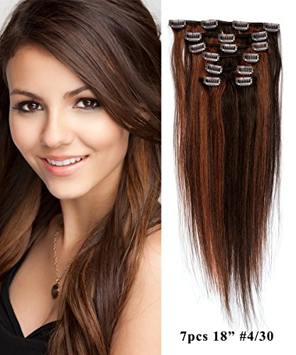 [Mike & Mary Clip in Hair Extensions 18