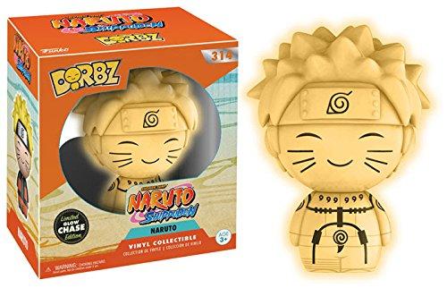 Funko Naruto Shippuden Naruto Nine-Tails Chakra Mode Dorbz Figure (Chase) (Naruto Shippuden Naruto Nine Tails Chakra Mode)