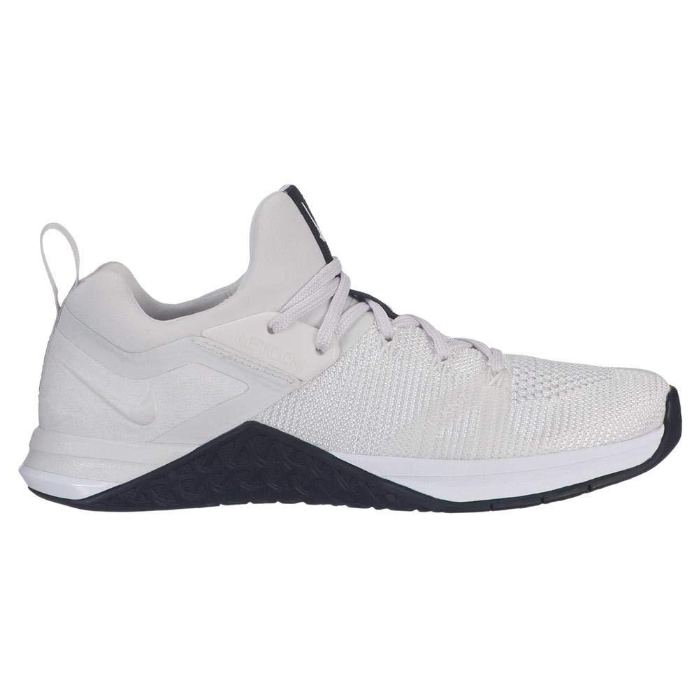 MultiCouleure (blanc  Platinum Tint  noir 100) 47 EU Nike WMNS Metcon Flyknit 3, Chaussures de Fitness Femme