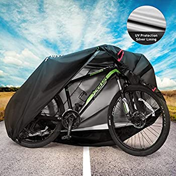 Toptrek Bike Cover Waterproof Outdoor Storage Bicycle Cover For Mountain Bike Ro