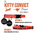 Kitty Convict Cat ID Collars by GoTags