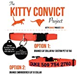 Kitty Convict Cat ID Collars