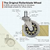 The Original Office Chair Caster Wheels Rollerblade