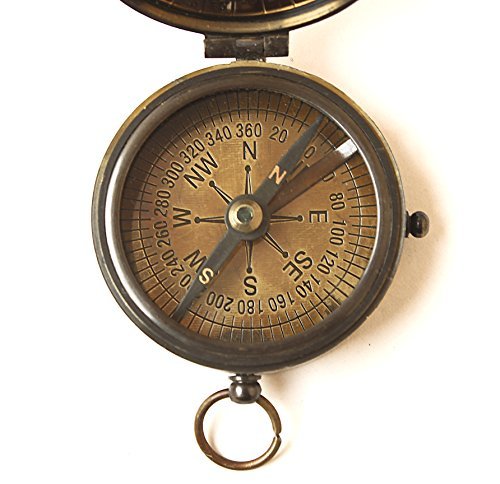 - Collectibles Buy Brass Compass Vintage Finish Kelvin Hughes 100 Year Calendar Compasses lid Compass