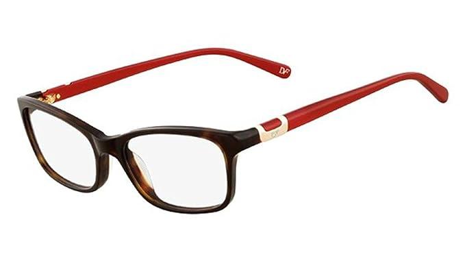 DVF Eyeglasses 5051 206 Tortoise 50MM at Amazon Men\'s Clothing store ...