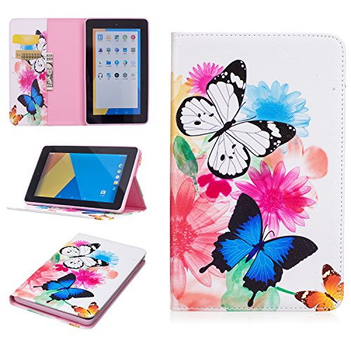 Beimu For Kindle New Fire 7 2015 Slim Case, Ultra Slim Lightweight Standing PU Leather Magnetic Case Cover for Amazon Kindle Fire 7 inch 7