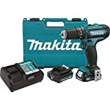 Makita PH04R1 12V Max CXT Lithium-Ion Cordless Hammer Driver-Drill Kit, 3/8″