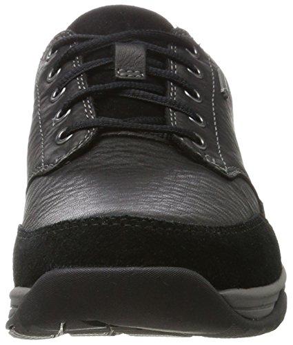 Leather Clarks Francesine Uomo Nero Gtx Baystonego black Y7Rx7